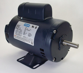2 hp 3450 RPM 145T Frame 115/208-230 Volts Open Drip Leeson Electric Motor # 120106