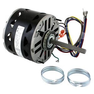 3/4 hp 1075 RPM 3-Speed 48 Frame 208-230V Direct Drive Furnace Motor Century # D1076
