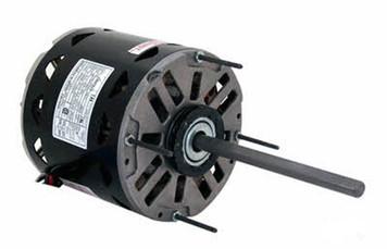 1 hp 1075 RPM 3-Speed 48 Frame 208-230V Direct Drive Furnace Motor Century # BD1106