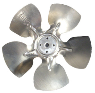 Elco Aluminum Fan Blade 4 & 5 Watt, 154MM Diameter # EC-4012309
