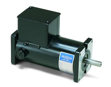 Permanent Magnet 90 Volts DC Motor 1/8 hp 1750 RPM 31ES Frame Leeson Electric Motor # M1120027