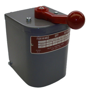 1.5 hp - 2 hp Electric Motor Reversing Drum Switch - Position = Maintained # RS-2