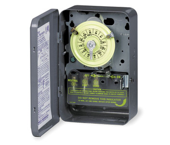 Intermatic T103 Steel Enclosure 125V DPST Multi Use Timer