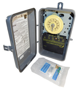 Intermatic T104R Steel Enclosure  208-277V DPST Multi Use Timer