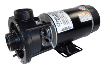 "3/4 hp 115V 2-Speed Waterway Spa Pump 1 1/2"" Center Discharge 