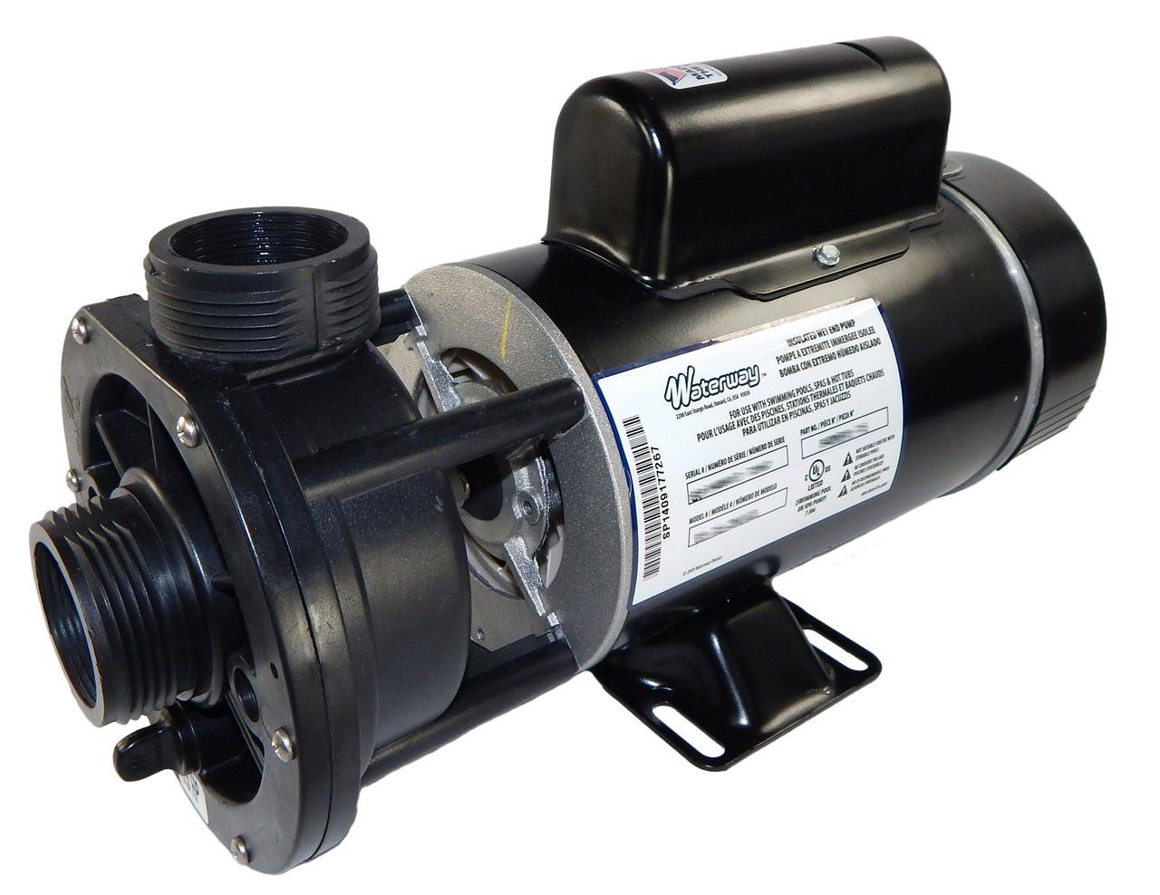 1 hp 115V 2-Speed Waterway Spa Pump 1 1/2\
