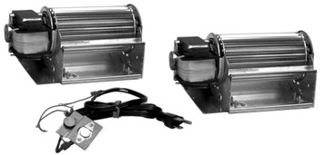 Security UZY4 Wood Fireplace Blower (Dual), Rotom Replacement # R7-RB267