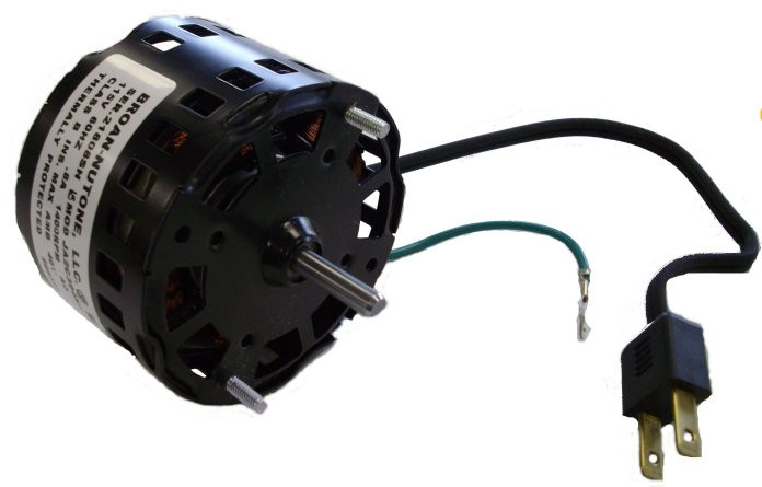Qt90t nutone fan motor 86323 1180 rpm 61 amps 120 for Nutone ls80 replacement motor