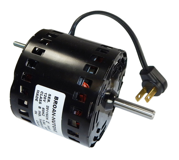 Broan Replacement Vent Fan Motor   99080596  1 6 Amps  1700 Rpm  120v