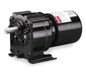 Dayton Model 3M326 Gear Motor TEFC, 4.1 RPM 1/40 hp 115 Volts 60HZ.