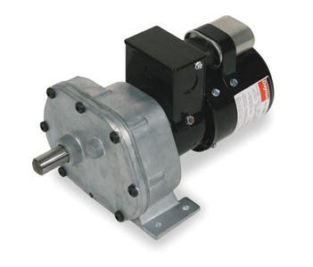 Dayton Model 1LPL5 Gear Motor 6 RPM 1/12 hp 115/230V (1L572)