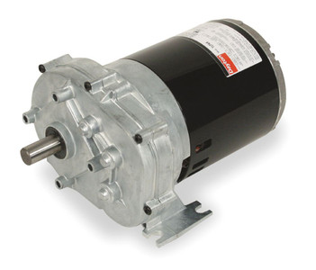 1/4 hp 60 RPM 115V Dayton AC Parallel Shaft Gear Motor Model (5K940) # 1LPP2
