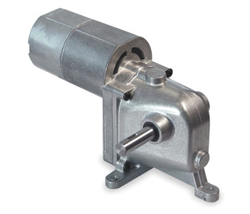 Dayton Model 1LRA1 AC/DC Dual Shaft Gearmotor 24 RPM 1/15 hp 115VAC (2Z801)