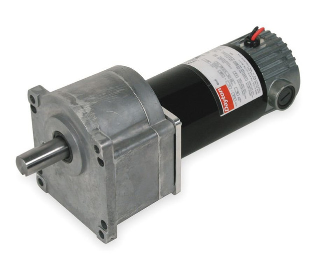 Dayton Model 1LPY1 DC Gear Motor 42 RPM 1 10 hp 90VDC 2H461