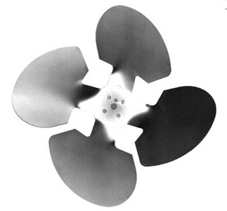"Century Unit Bearing Aluminum Fan Blade 9 & 16 Watt, 10"" Diameter, Suction # 2267"