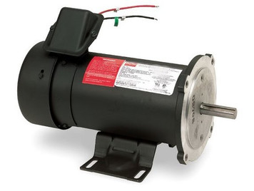 3/4 hp 1750 RPM 56C Frame 180 Volts DC Dayton Electric Motor Model 4Z525
