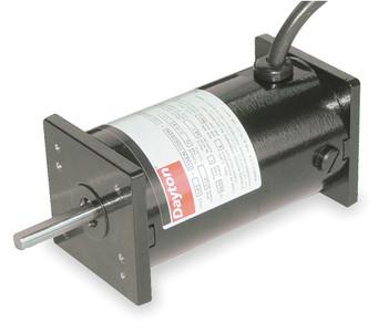 DC TENV Motor 1/20 HP 1750/4000 RPM 12/24VDC Dayton Model 3XE20