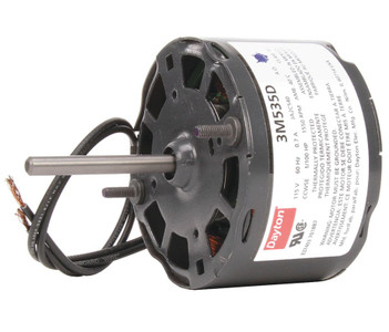 "1/100 hp, 1550 RPM, 115 Volt, 3.3"" diameter Dayton Electric Motor Model 3M535"