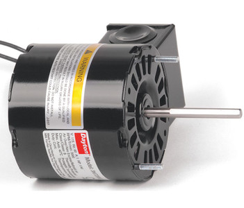 "1/40 hp, 3000 RPM, 115 Volt, 3.3"" diameter Dayton Electric Motor Model 3M728"