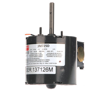 "1/30 hp, 3000 RPM, 230 Volt, 3.3"" diameter Dayton Electric Motor Model 3M725"