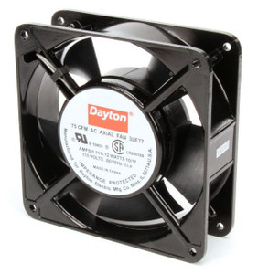 Dayton Axial Fan 115 Volts AC; 10 Watts; 75 CFM; Model 3LE77