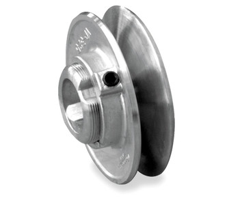 "3.75"" x 1/2"" Single Groove Fixed Bore Variable Pitch Die Cast Pulley"