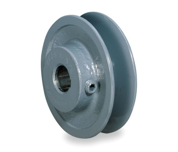 "3.95"" X 1-1/8"" Single Groove Fixed Bore ""A"" Pulley # AK41X1-1/8"