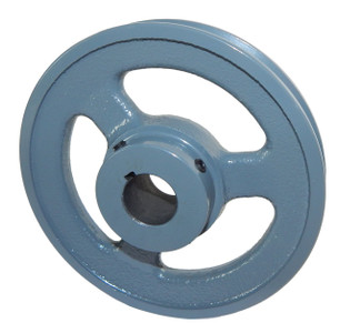 "5.25"" X 1/2"" Single Groove Fixed Bore ""A"" Pulley # AK54X1/2"