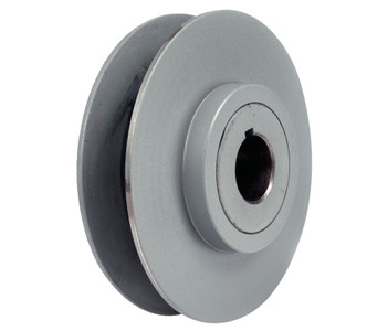 "2.5"" x 1/2"" Vari-Speed 1 Groove Pulley / Sheave # 1VP25X1/2"