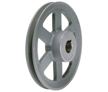 "11.93"" X 1"" Single Groove HVAC Pulley # AL124X1"