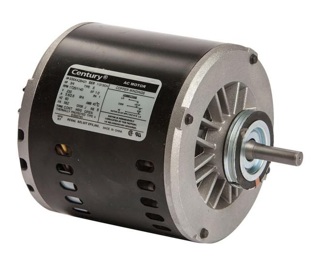 evaporative cooler motor 3 4 hp 1725 rpm 2 speed 56z frame. Black Bedroom Furniture Sets. Home Design Ideas