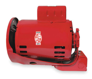 3/4 hp 1725 RPM 115/230V Bell & Gossett Model 111047 Circulator Electric Motor