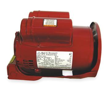 1 hp 1725 RPM 115/208-230V Bell & Gossett Model 169232 Circulator Electric Motor