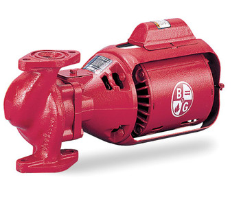 Bell & Gossett Circulating Pump Series 100 Model HV NFI 1/6 hp 115 Volts