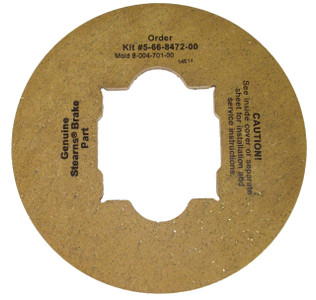 Stearns Brake Friction Disc (8-004-701-00) Replacement # 5-66-8472-00