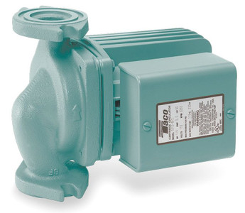 Taco Hot Water Circulator Pump Model 0011-F4; 115V