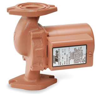 Taco Hot Water Circulator Pump Model 0014-F1; 115V