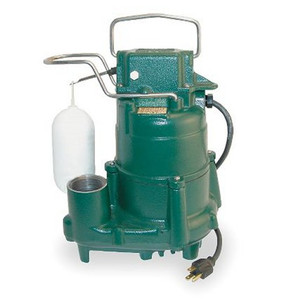 ZOELLER Sump Pump 1/2 hp 115 Volts Model # M98