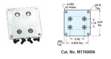 Option Base Kit for certain Leeson Gear Motors M1760006