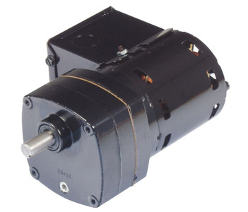 Bison Model 016-102-0186 Gear Motor 1/80 hp 8.8 RPM 115V 60/50HZ.