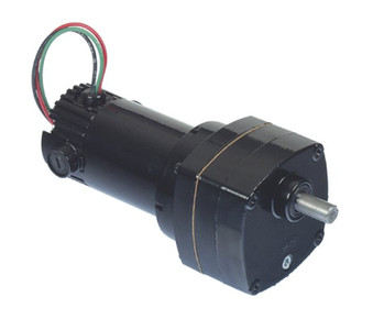 Bison Model 011-175-0005 Gear Motor 1/10 hp 360 RPM 90/130VDC