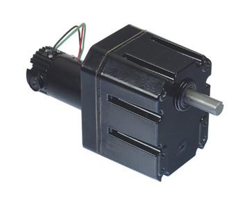 Bison Model 011-656-0138 Gear Motor 1/6 hp 13 RPM 90VDC