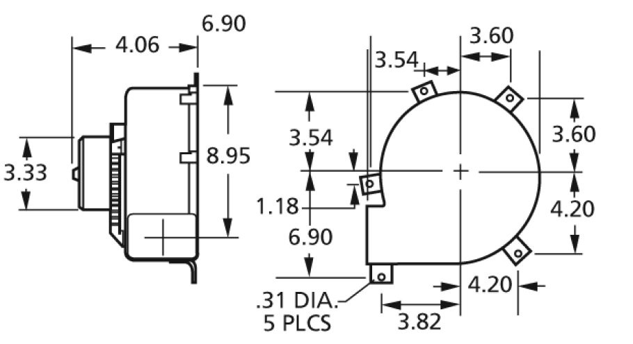 B Dim on 3 Sd Furnace Motor Wiring Diagram