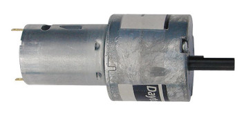 Dayton Miniature Parallel Shaft Gear Motor 90 RPM 24 Volt DC # 5VXW6