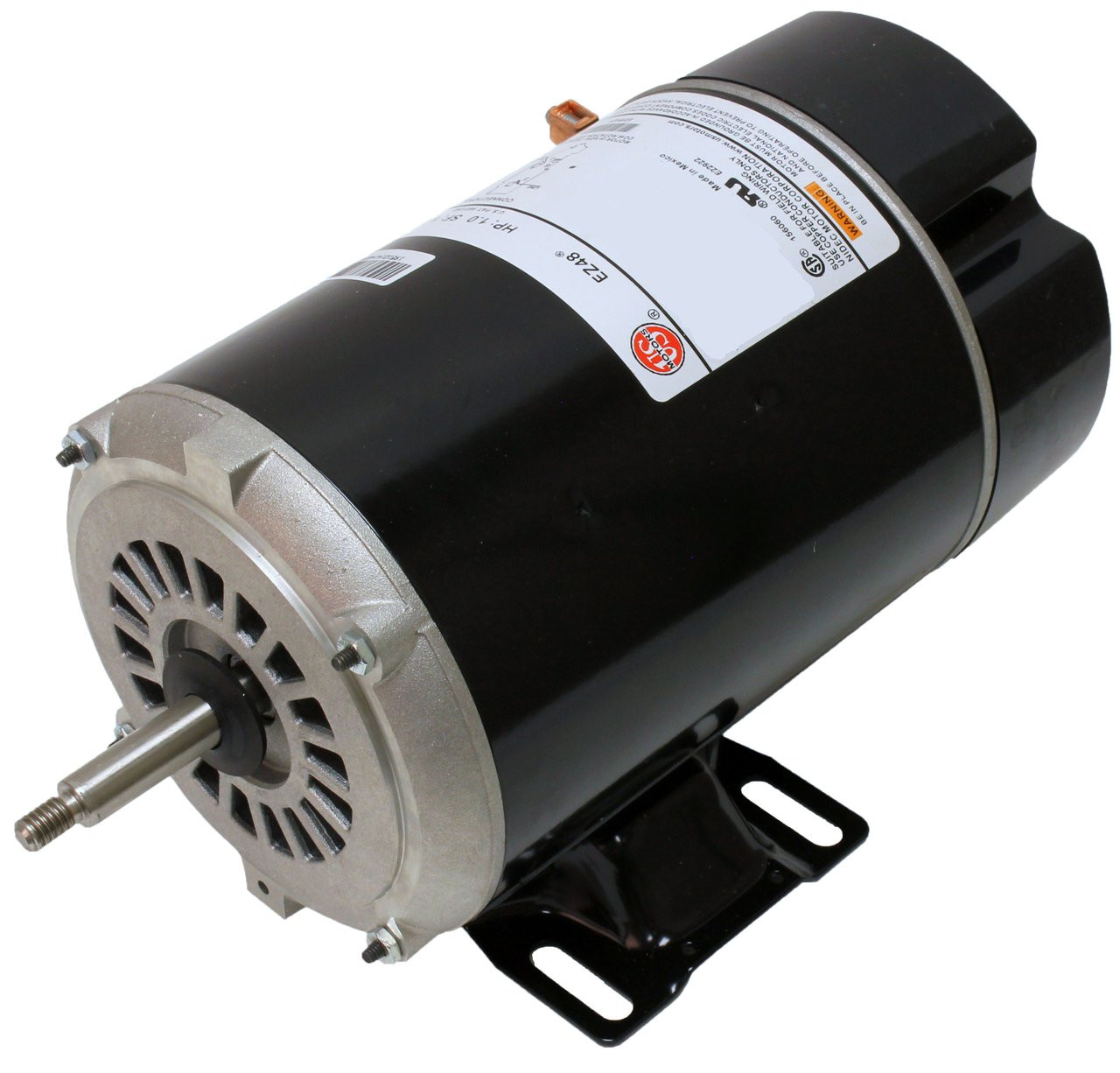 1.5 hp 3450/1725 RPM 48Y Frame 230V 2-Speed Pool & Spa Electric ...