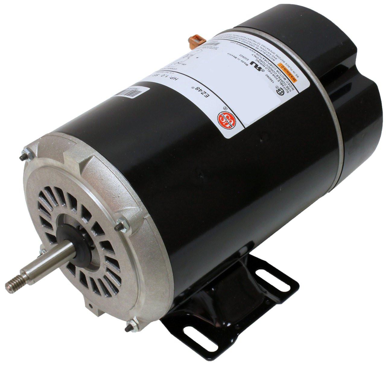 2 hp 3450/1725 RPM 48Y Frame 230V 2-Speed Pool & Spa Electric Motor ...