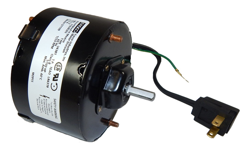 Air Vent Fan Motors : Hp rpm ccw quot diameter volts nutone
