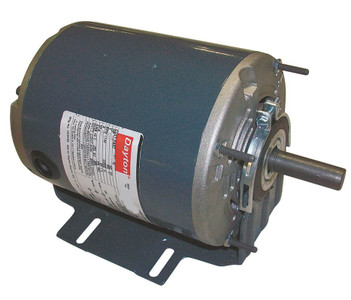 1/3 hp 1725 RPM 115/208-230V Belt Drive Hi-Temp Split-Phase Motor Dayton # 4VAG1