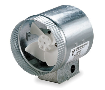 "Tjernlund 12"" Round In-Line Air Duct Booster Fan 120 Volt # EF-12"