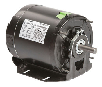 1/2 hp 1725 RPM 56 Frame 115/230V Belt Drive Blower Motor Ball Brg Century # RB2054DV2